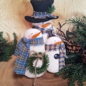 Frosty Ornaments